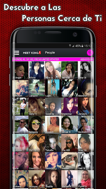 Screenshot 2 de Citas de adultos - MeetKing para android