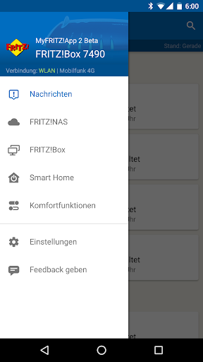 MyFRITZ!App screenshots 1