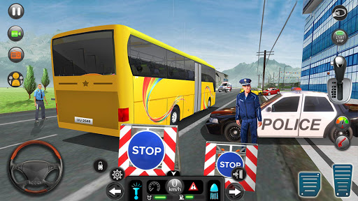 Real Bus Simulator Driving Games New Free 2021 1.7 screenshots 10