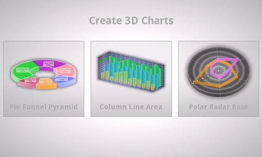 3d charts pro screenshot 1