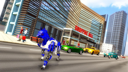 US Police Dog Robot Transform Bike Robot Games 4.1.0 screenshots 3