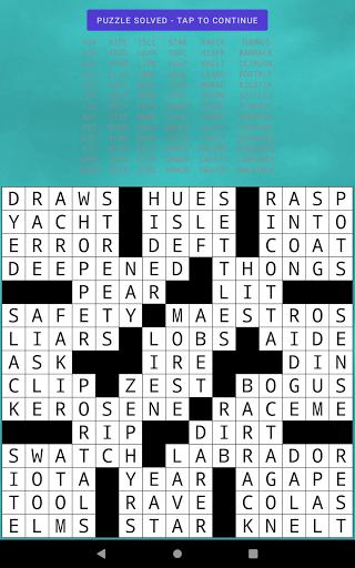 Classic Drag-n-Drop Crossword Fill-Ins 1.21 screenshots 10