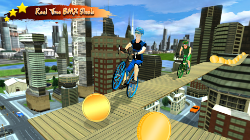 Real Bicycle Racing : BMX  Bicycle game 2021 apkslow screenshots 3
