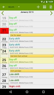 Shift Work Calendar FlexR Pro v7.11.6 Patched APK 4
