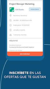 InfoJobs - Job Search 3.93.0 Screenshots 6
