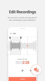 GOM Recorder - High-Quality Voice Recorder 1.2.0 APK screenshots 6