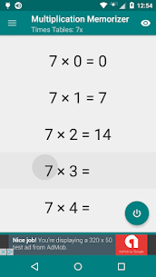 Free Multiplication Memorizer 3