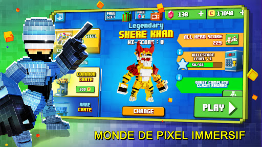 Télécharger Gratuit Super Pixel Heroes 2021 mod apk screenshots 2