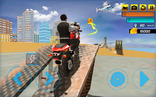Super Stunt Hero Bike Simulator 3D 2 screenshots 6