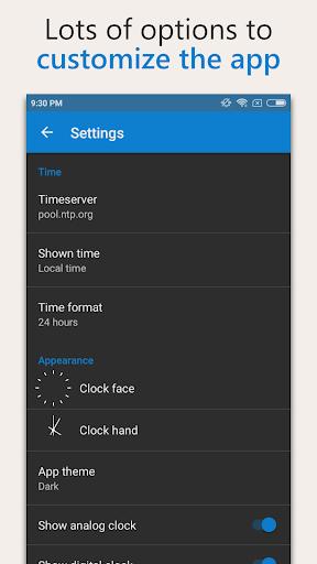 AtomicClock u2014 NTP Time (with widget) 1.7.6 screenshots 4