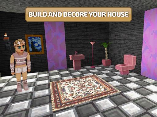 Craft World 3D: Free Block Craft Mini World games! 0.9.6 screenshots 13