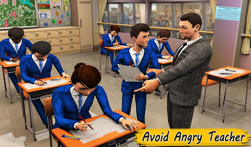 High School Cheating Boy Cheater Bob School Games 1.5 screenshots 8