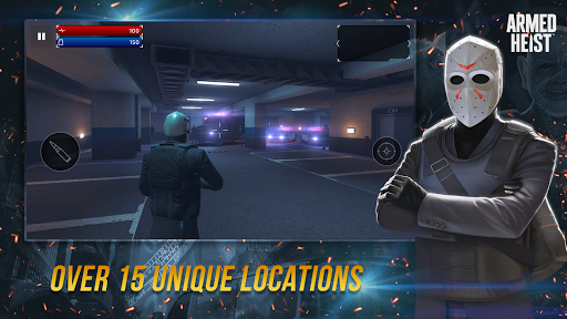 Armed Heist: TPS 3D Sniper shooting gun games 2.1.2 screenshots 11