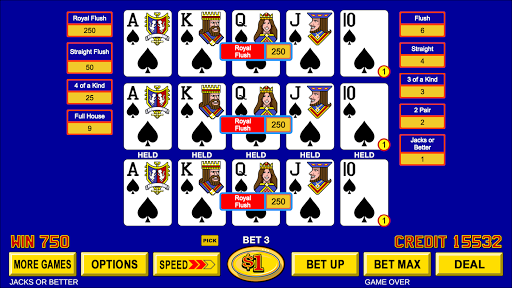 Video Poker - Classic Casino Games Free Offline  screenshots 11