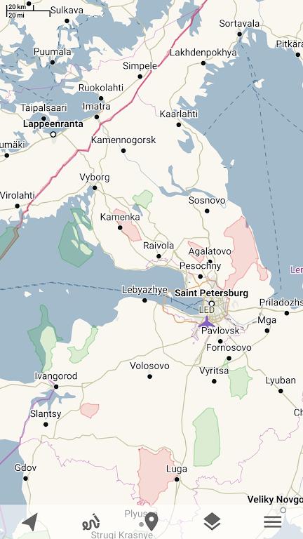 Trekarta - offline maps for outdoor activities  poster 1