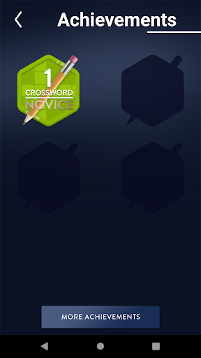 Crossword Puzzles Word Game Free 2.84 screenshots 4