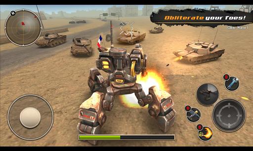 Télécharger gratuit Mech Legion: Age of Robots APK MOD 2