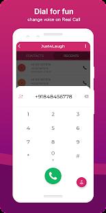 Just4Laugh   Voice Changer App