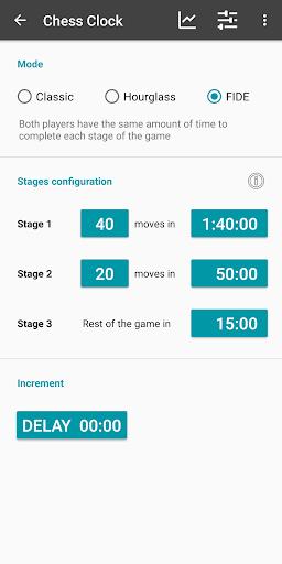Chess Clock - Game Timer & Stats  screenshots 3