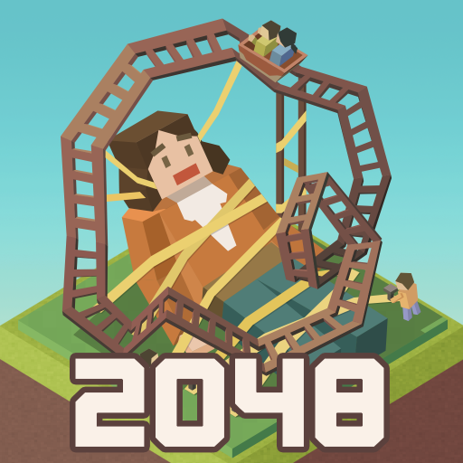 Merge Tycoon: 2048 Theme Park