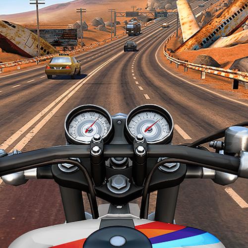 Moto Rider GO: Highway Traffic  (Free Shopping) 1.44.1 mod