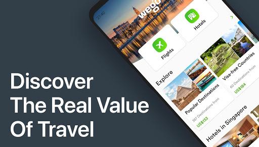 Download Wego Flights, Hotels, Travel Deals Booking App 6.4.0 1