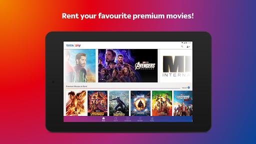 Tata Sky Mobile- Live TV, Movies, Sports, Recharge screenshots 24