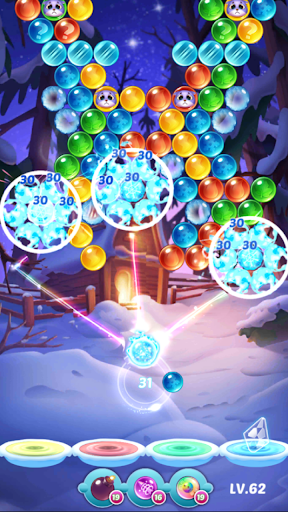 Bubble Shooter-Puzzle Games modiapk screenshots 1