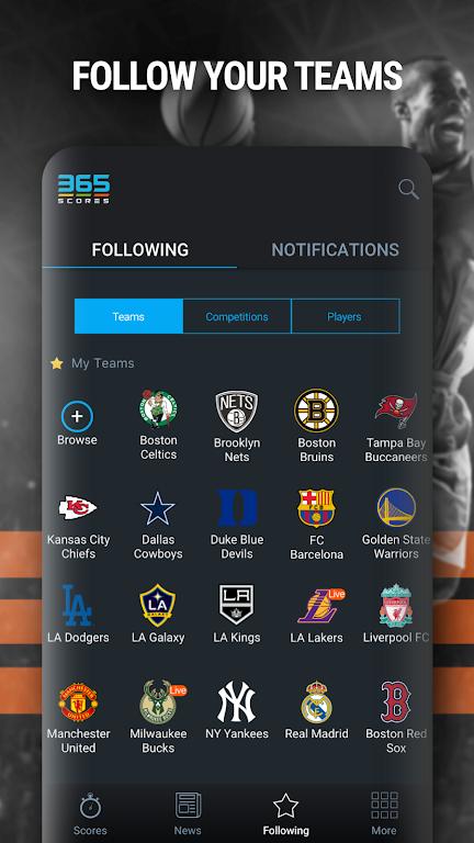 365Scores: Live Scores & Sports News poster 13