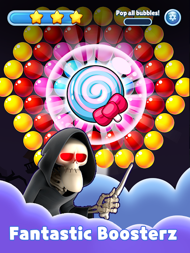 SPOOKIZ PANG: Bubble Shooting apkpoly screenshots 12