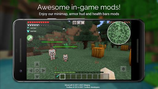 Toolbox for Minecraft: PE Apkfinish screenshots 1