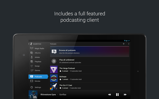 doubleTwist Music & Podcast Player with Sync screenshots 10
