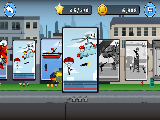 stickman soldier backflip pro screenshot 1