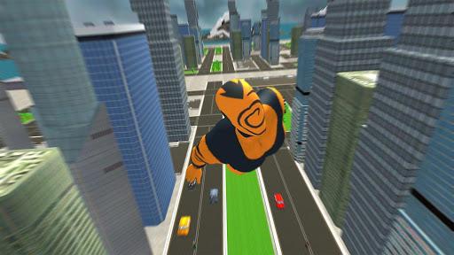 Flying Superhero Revenge: Grand City Captain Games screenshots 12