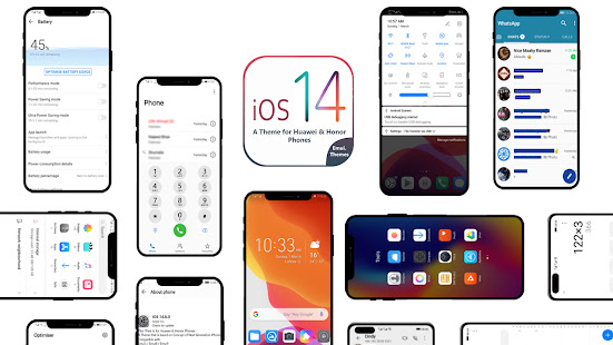 Os14 Theme for Huawei (Emui Theme) 4.2 Screenshots 1
