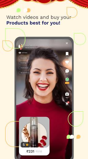 simsim - India's #1 Short Video & Shopping App 1.0.43 screenshots 2