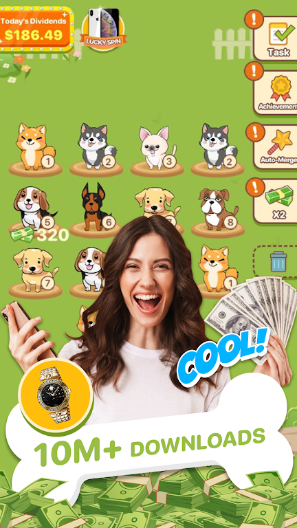 Puppy Town - Merge & Win  poster 3