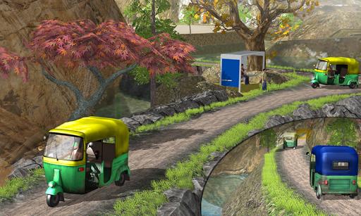 Tuk Tuk Auto Rickshaw Offroad Driving Games 2020 android2mod screenshots 7