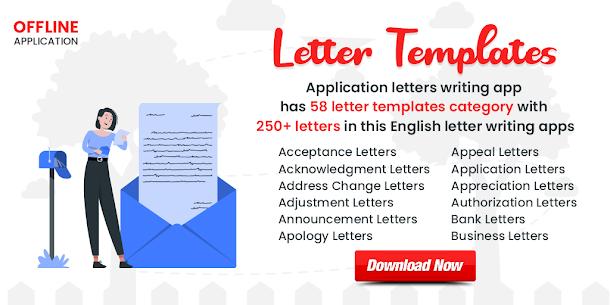 Letter Templates Offline – Letter Writing App MOD APK 1
