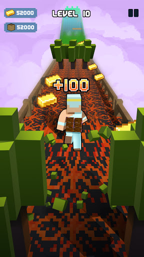 Craft Runner - Miner Rush: Building and Crafting Apkfinish screenshots 2