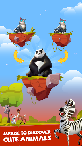 Merge Animal Kingdom - Zoo Tycoon  screenshots 10