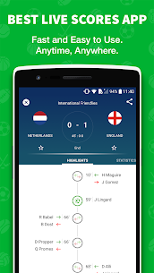Skores  Live Soccer PC Version [Windows 10, 8, 7, Mac] Free Download 1