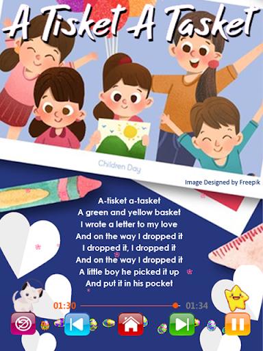Kids Songs - Offline Nursery Rhymes & Baby Songs 1.8.2 screenshots 3
