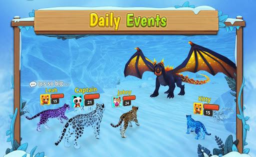 Snow Leopard Family Sim Online 2.4.4 screenshots 4