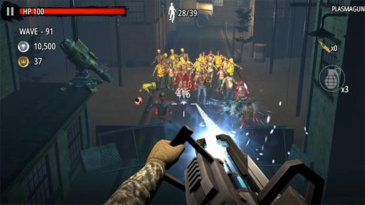 Zombie Hunter D-Day screen 2