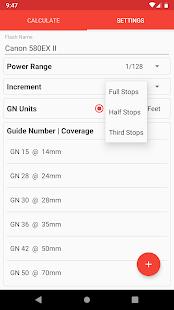 Manual Flash Calculator (Free)