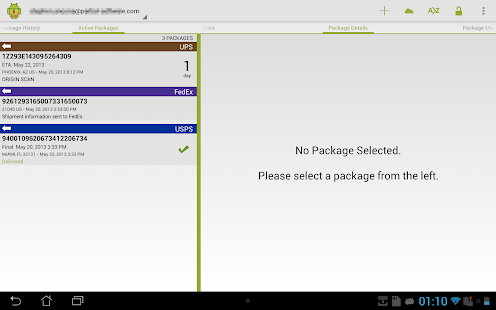 Package Buddy Screenshot