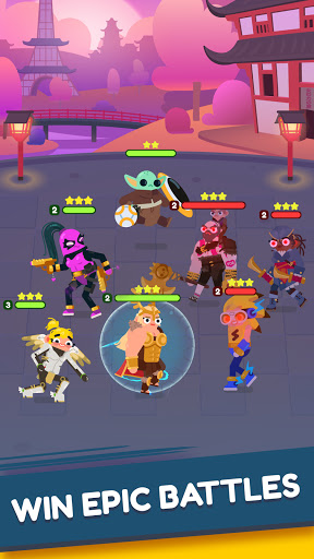 Heroes Battle: Auto-battler RPG screenshots 4