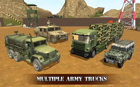 US OffRoad Army Truck driver 2021 7
