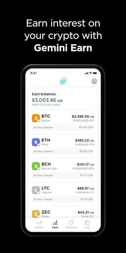 Foto do Gemini: Buy Bitcoin Instantly